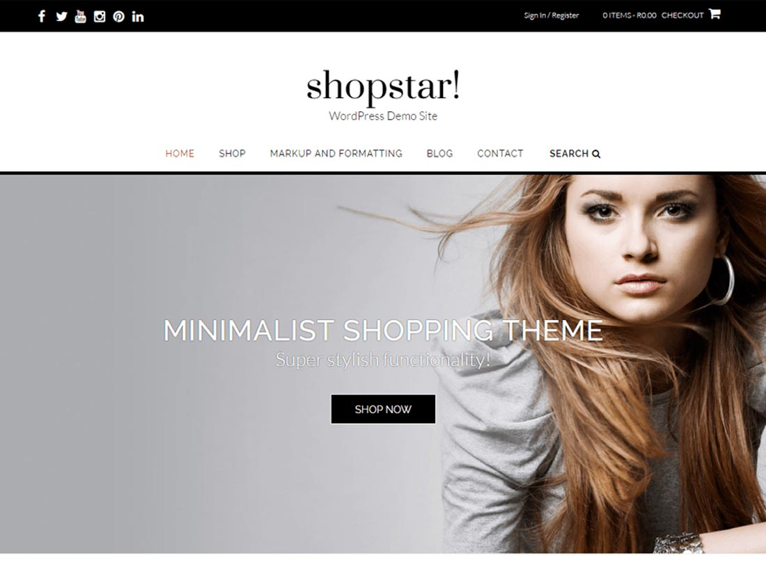 0941288c46a 20 Free Fashion WordPress Themes for your Blog or Website 2018