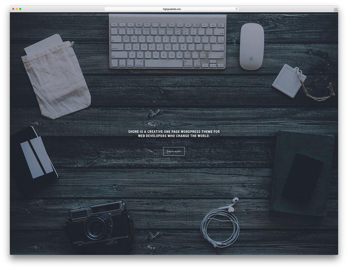 shore-simple-fullscreen-wordpress-website-template
