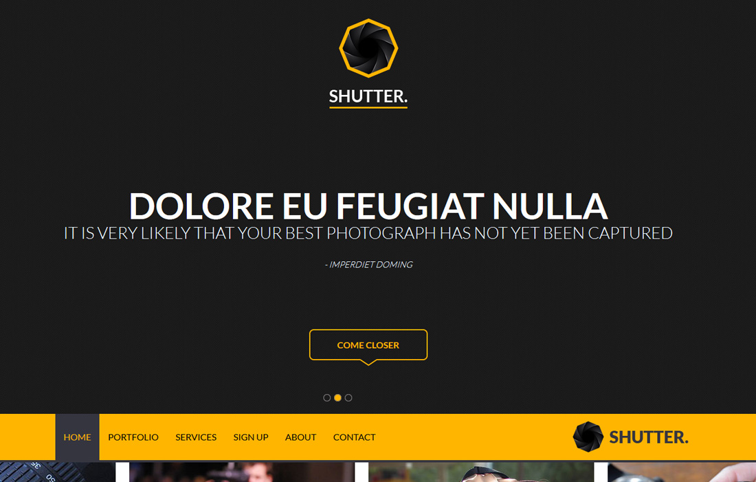 shutter-free-bootstrap-gallery-templates