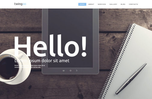 Simple WordPress Corporate Themes