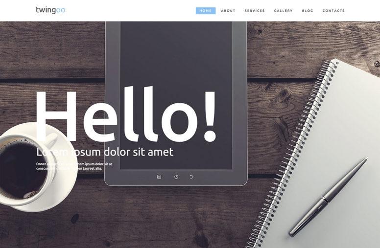 Simple WordPress Corporate Themes