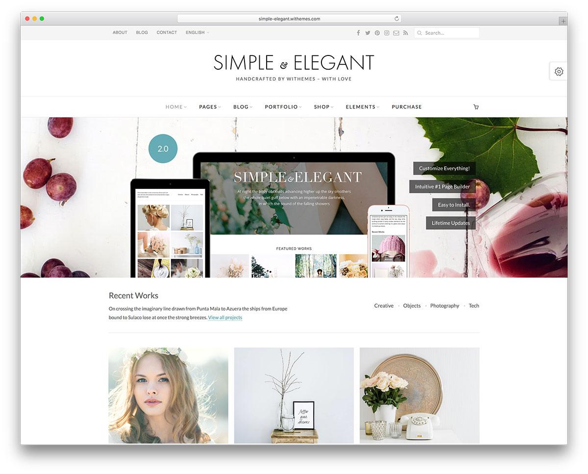 30 Modern Creative WordPress Themes 2017 Colorlib