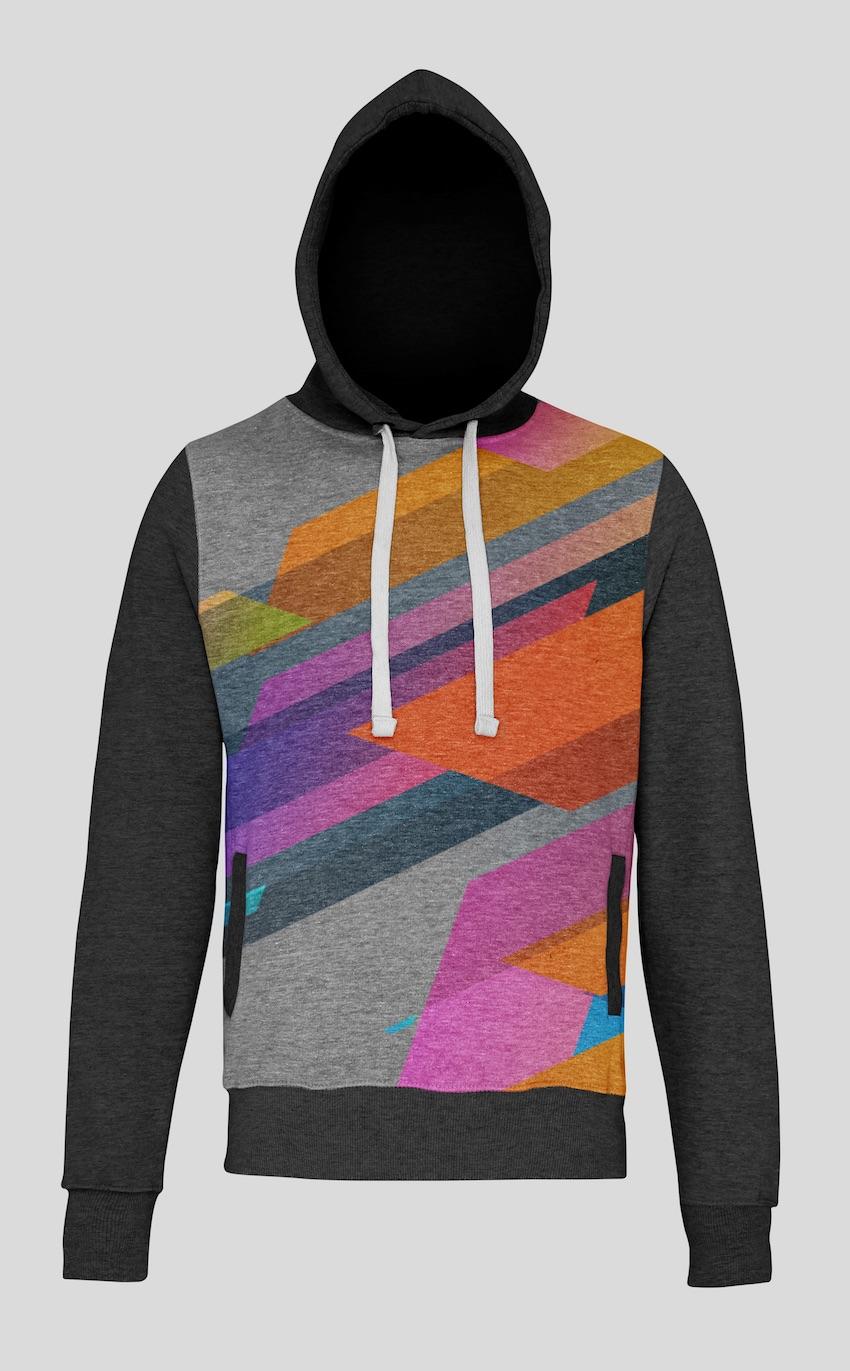 simple hoodie mockup