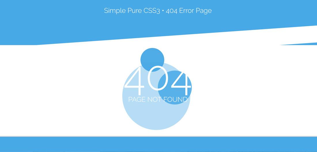 simple-pure-css-free-404-error-page-templates