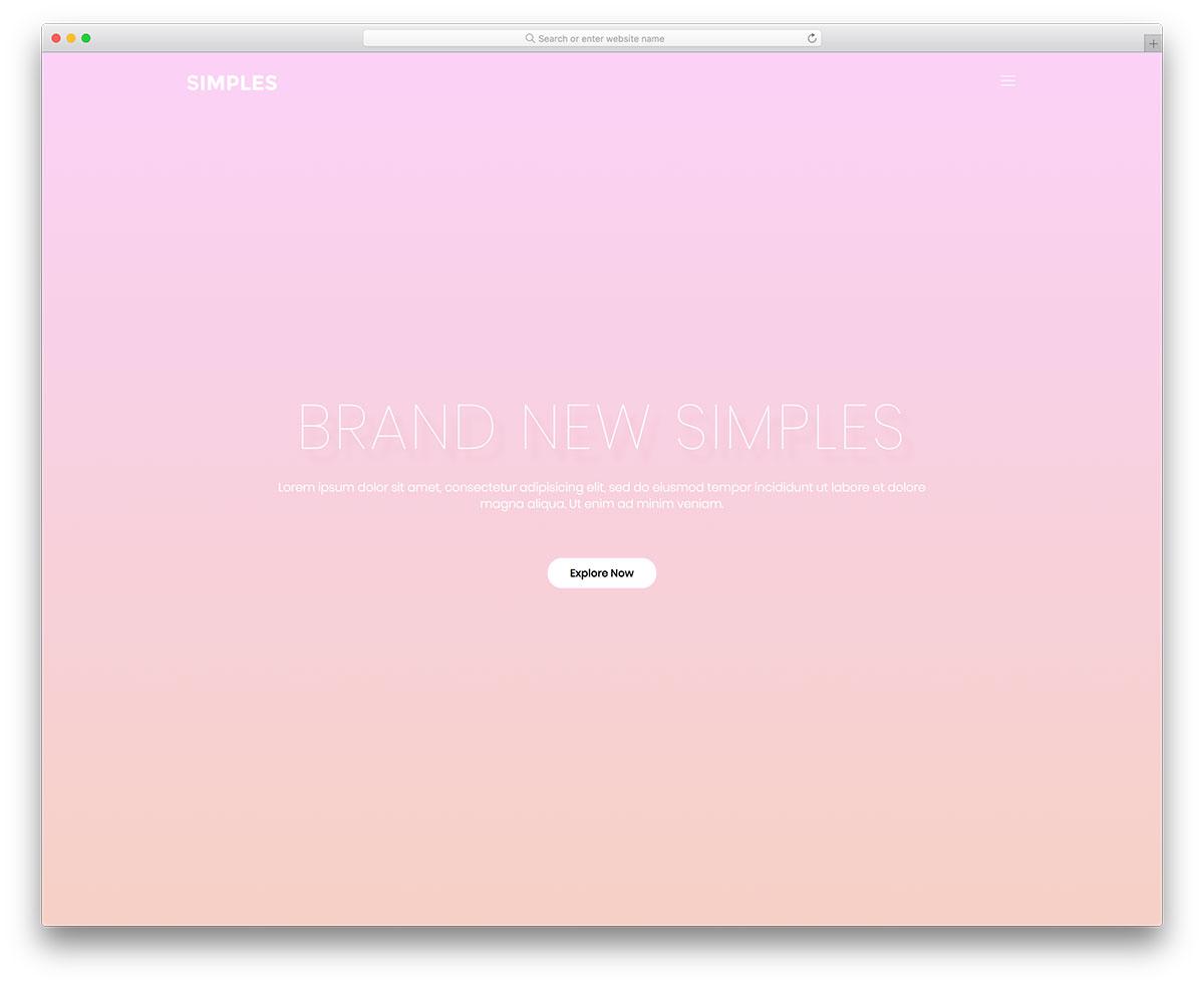 40 Best Free Mobile-Friendly Website Templates 2019 - Colorlib