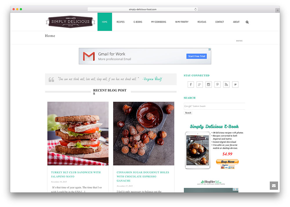 simply-delicious-food-blog-using-jupiter-wordpress-theme