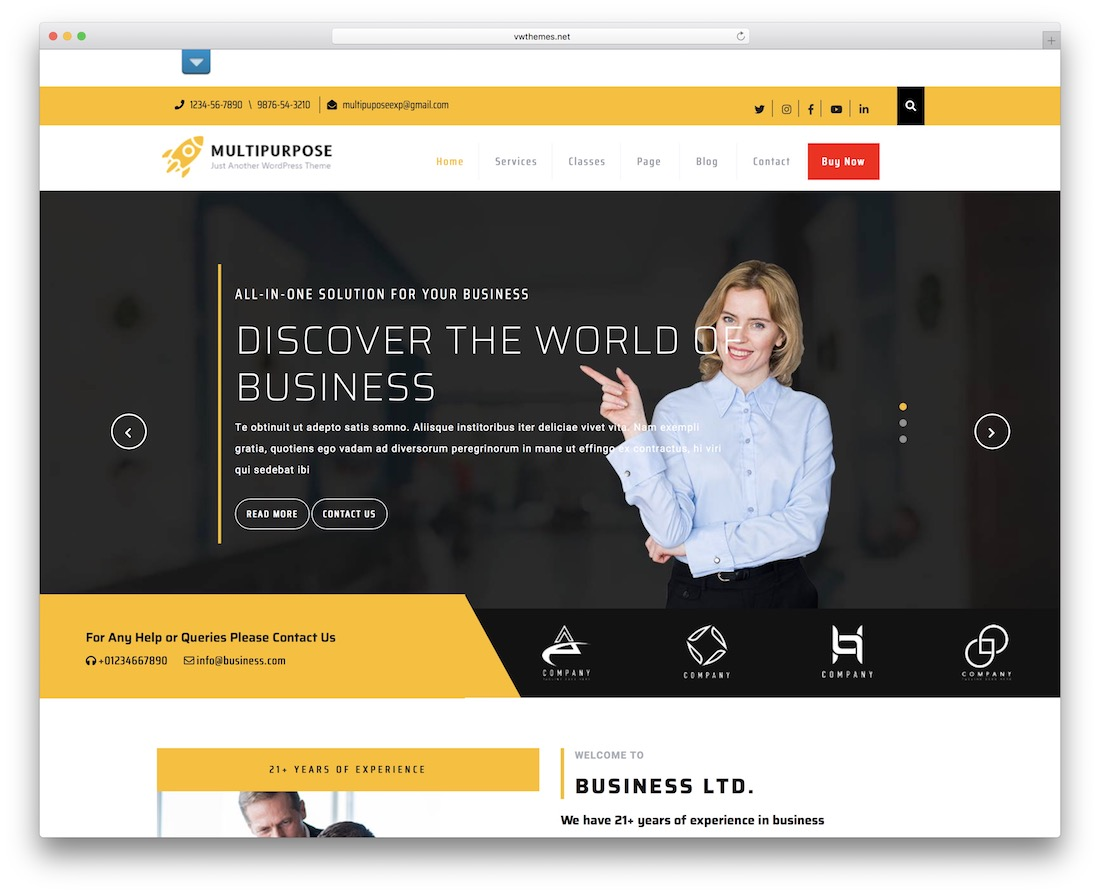 sirat free multipurpose wordpress theme