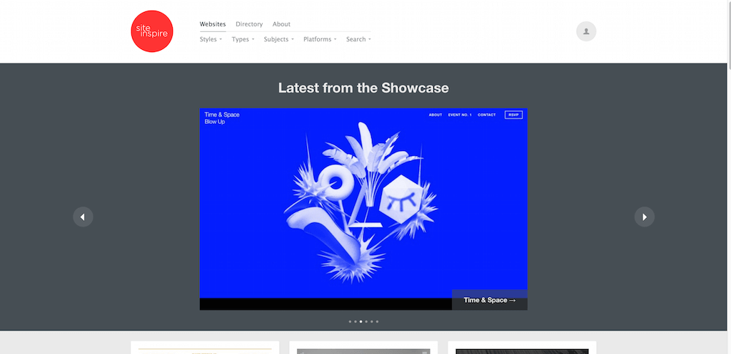 siteInspire Web Design Inspiration