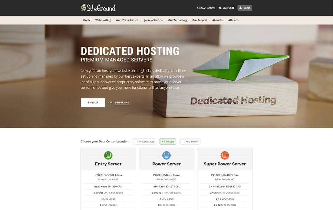 siteground java hosting
