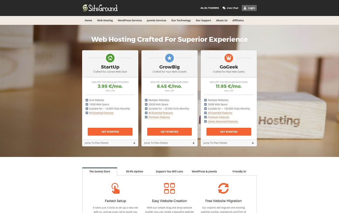 siteground multiple domain hosting