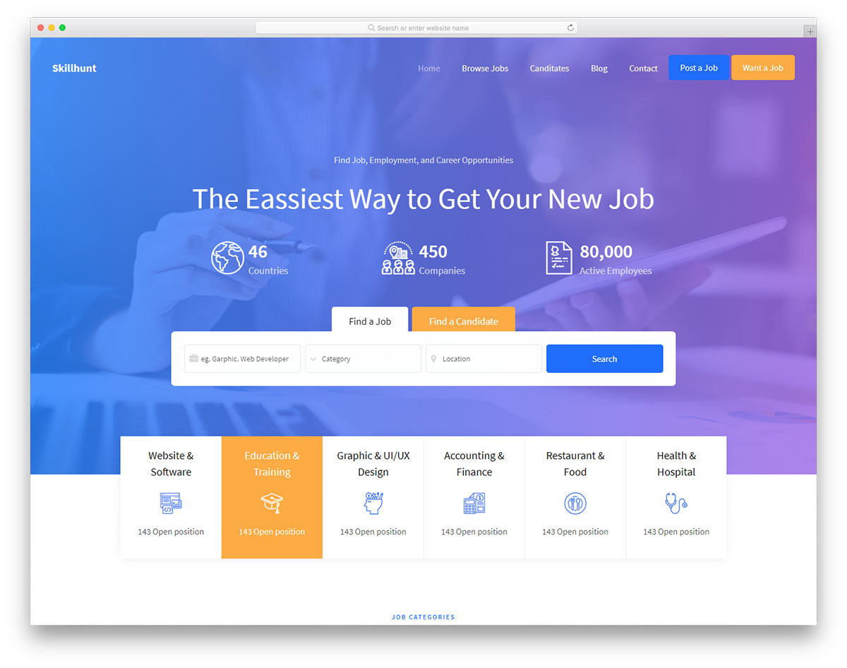 600+ Free Website Templates | HTML & Bootstrap 2019 - Colorlib