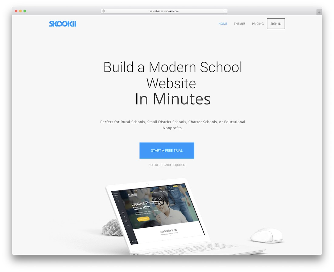 skookii education website builder