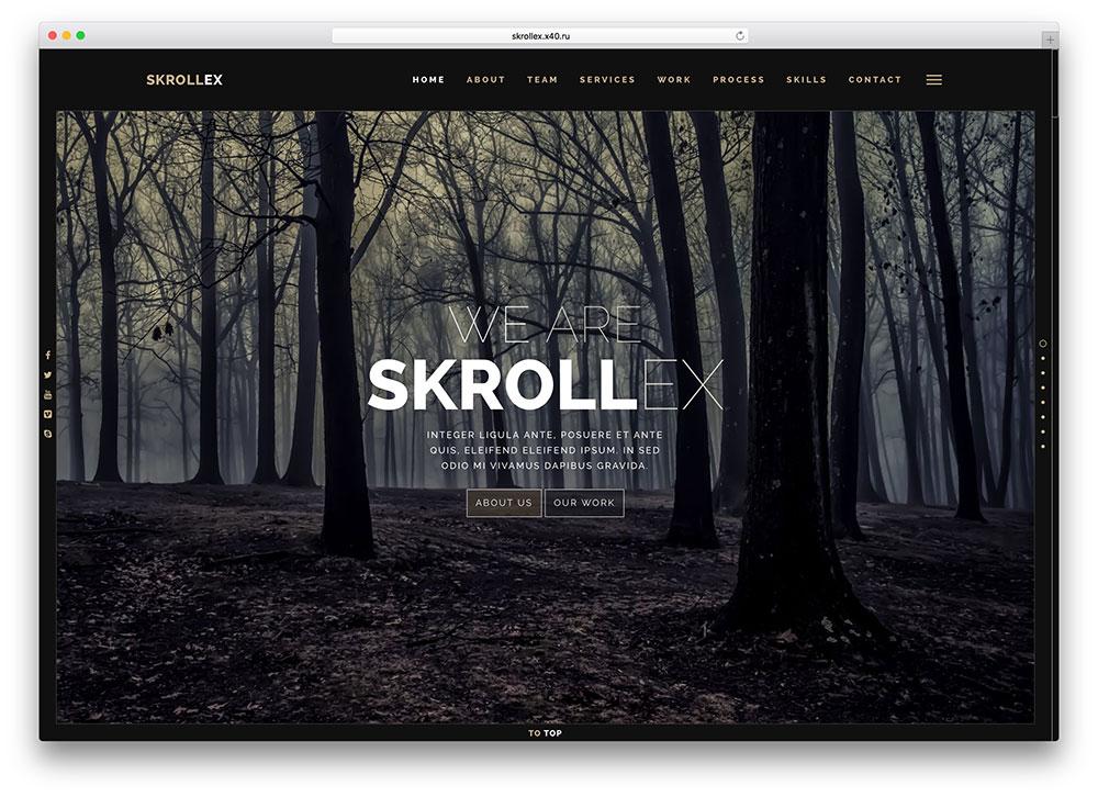 skrollex-parallax-html5-bootstrap-template