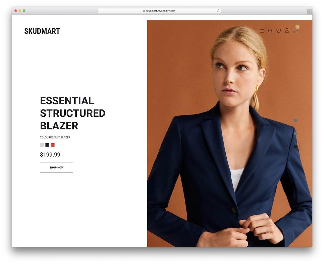 skudmart boutique shopify theme
