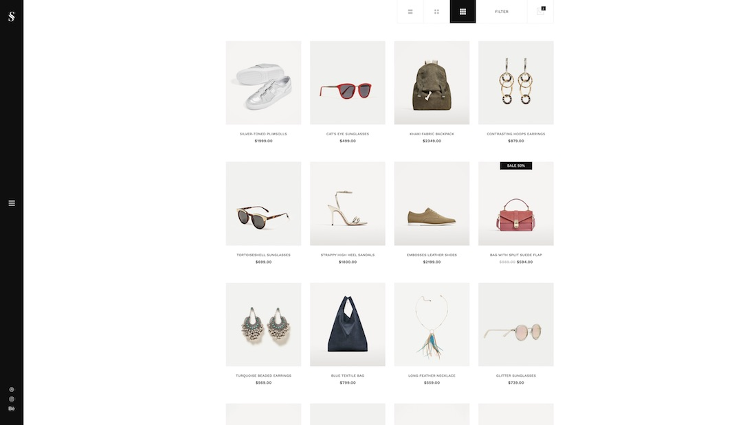 skylith ecommerce website template
