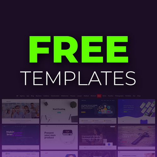 Free Slider Revolution templates