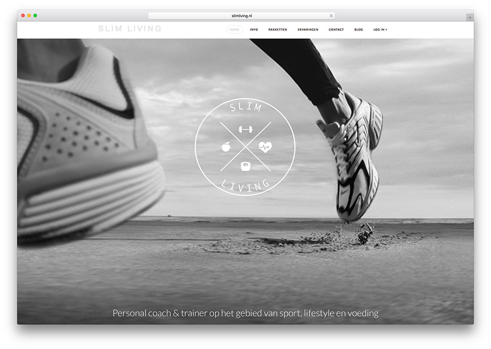 slimliving-personal-fitness-coach-site-example