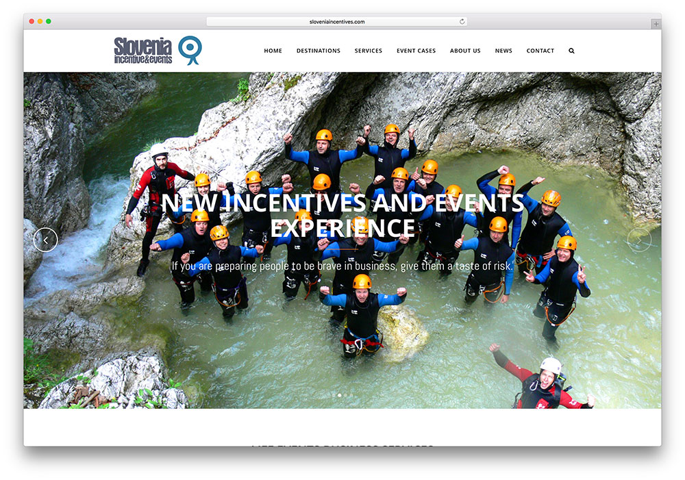 sloveniaincentives-travel-wordpress-site-example