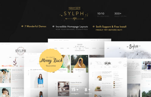 Slyph Multipurpose Wordpress Blog Theme