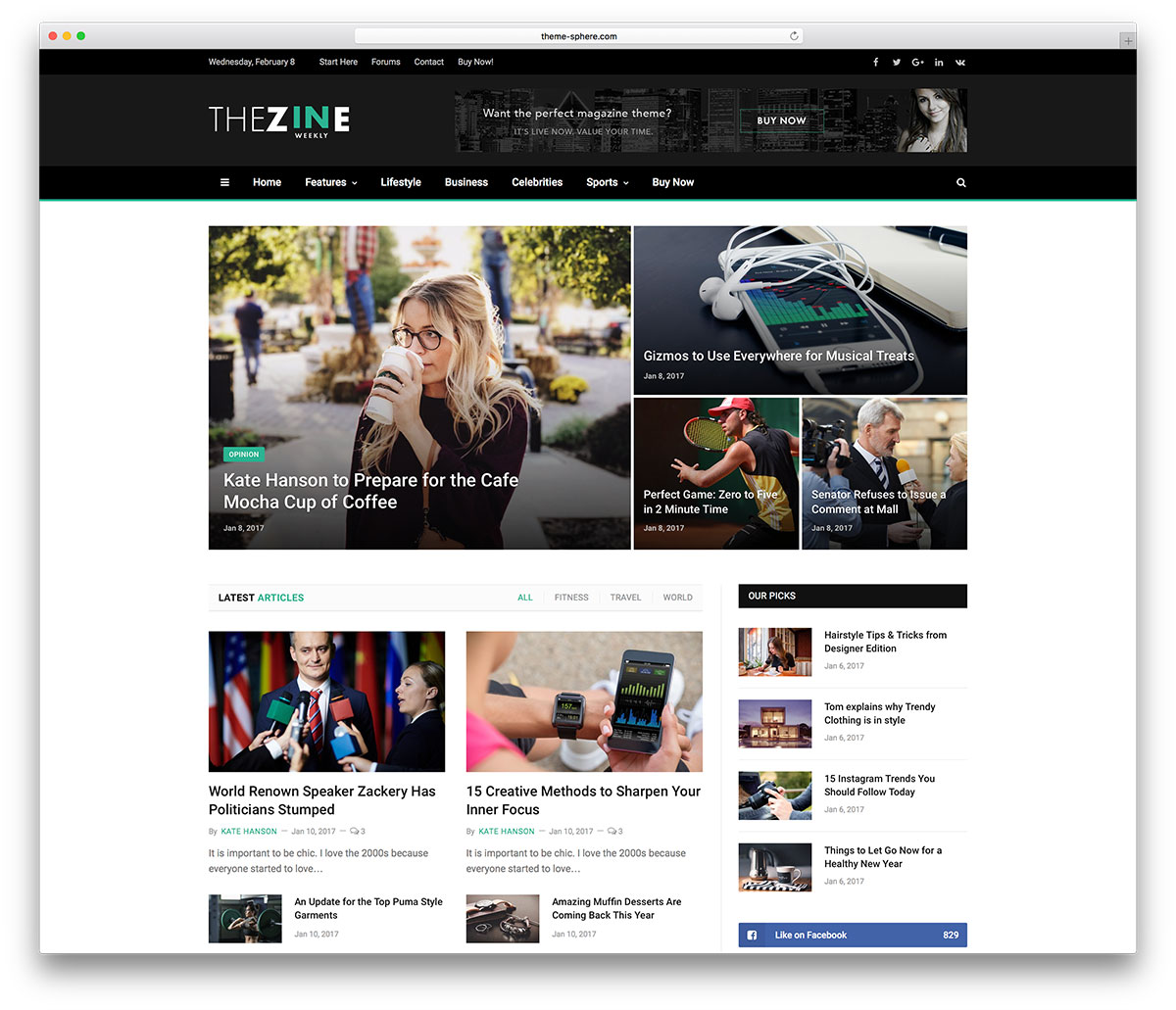 61700373886aa 36 Best WordPress Newspaper Themes for News Sites 2019 - Colorlib