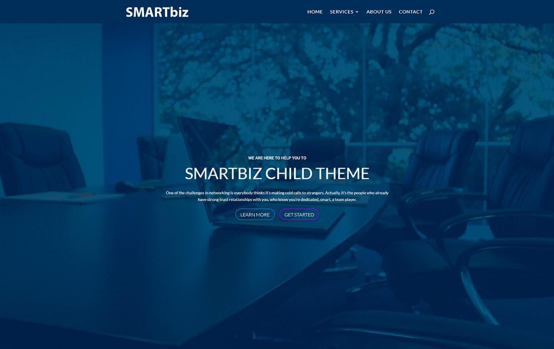 smartbiz divi child theme