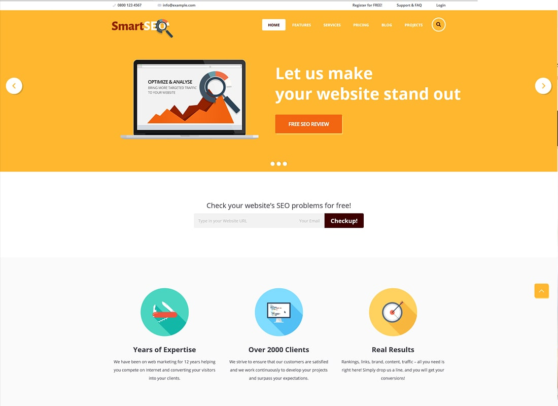 SmartSEO | SEO & Marketing HTML Theme