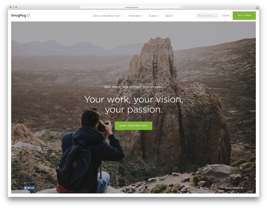 smugmug best portfolio website builder