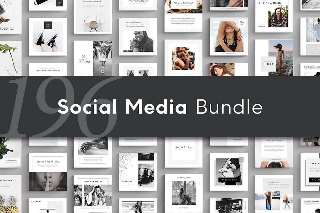 social media banner bundle
