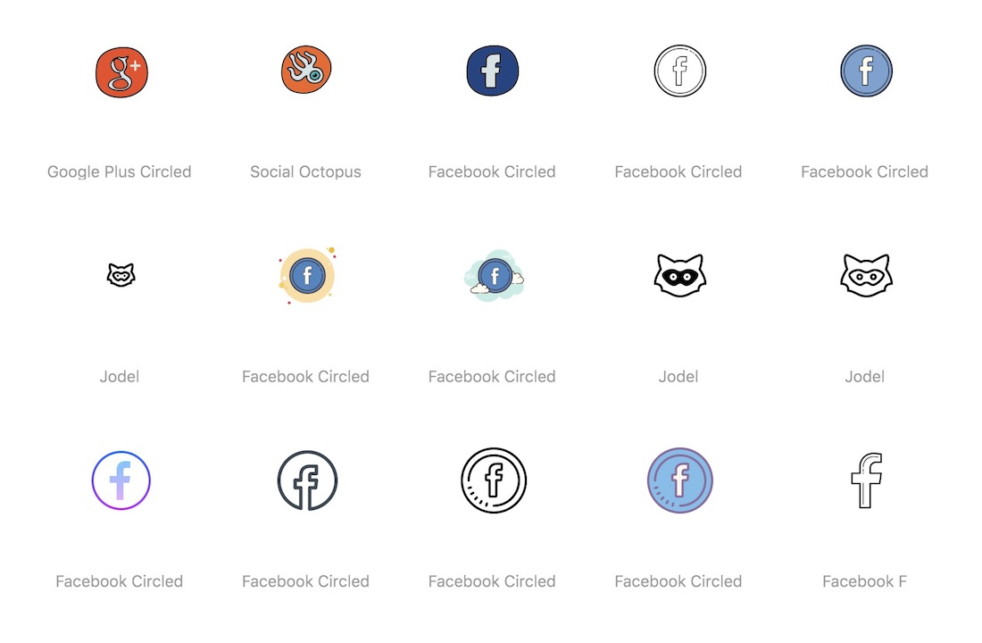 social media png svg pdf