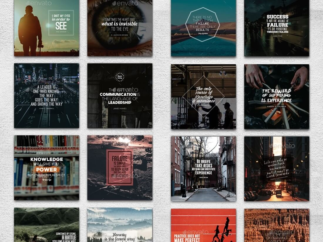 18 Social Media Templates To Boost SM Engagement 2017 - Colorlib