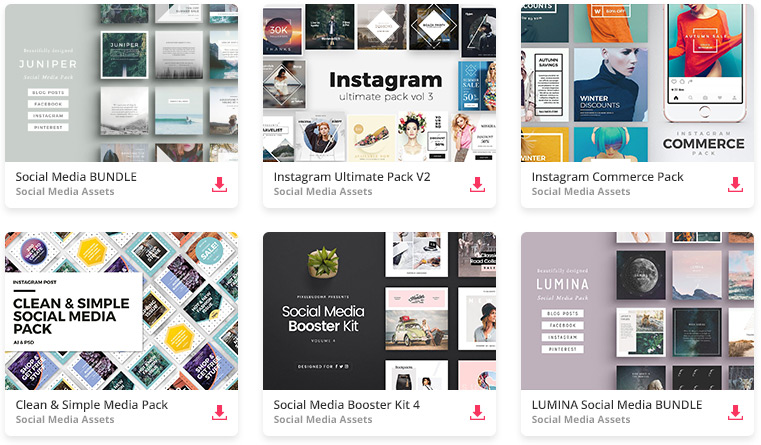 All The Social Media Graphics You Need And Many Other Design Elements, Are  Available For A Monthly Subscription By Subscribing To Envato Elements.