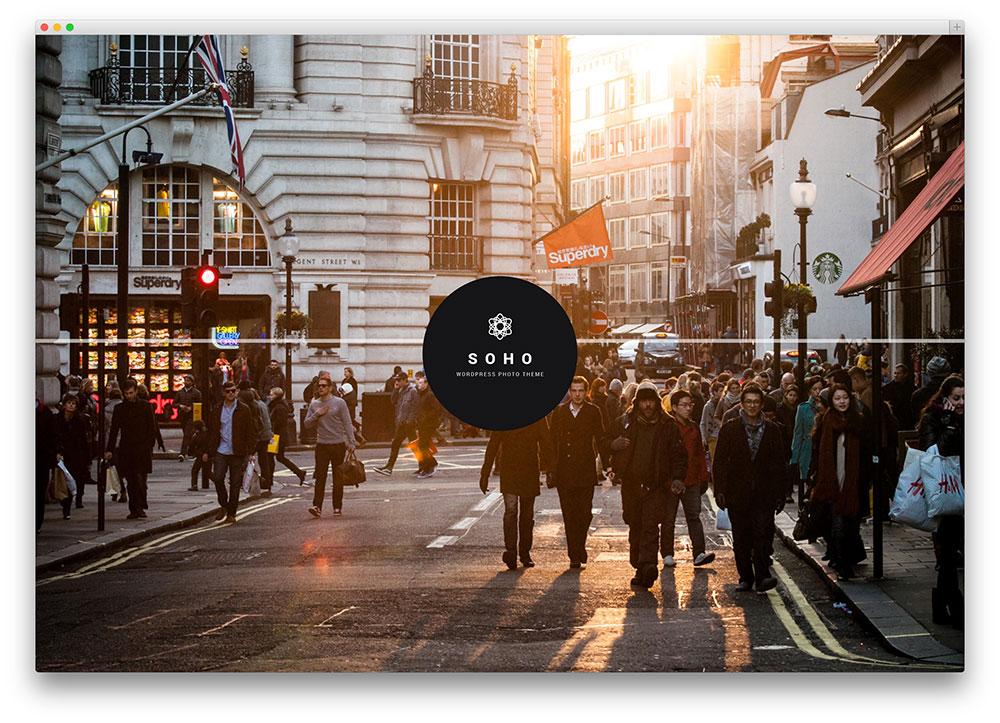 soho - creative fullscreen theme
