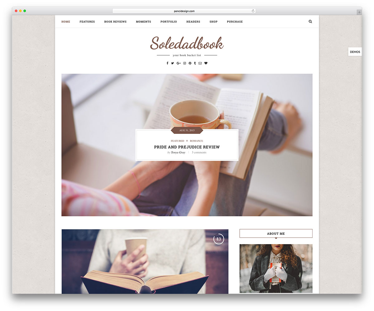 soledad-book-publisher-blog-theme