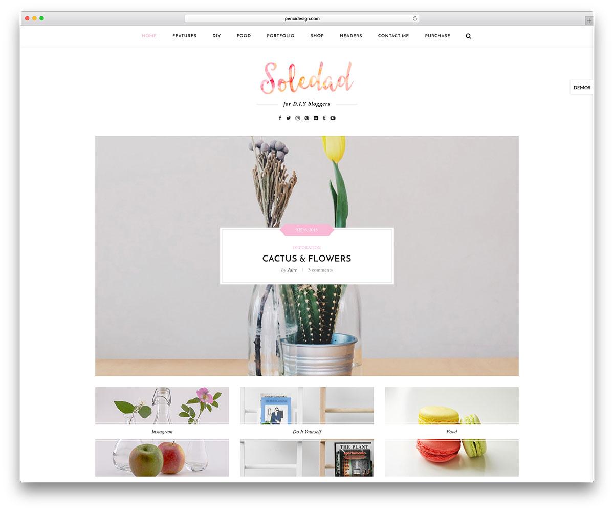 soledad-diy-wordpress-blogging-theme