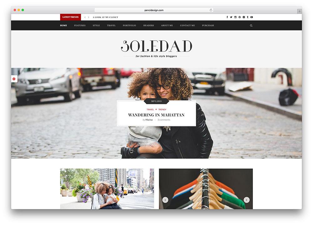 Brilliant 20 Best Fashion Blog Magazine Wordpress Themes 2017 Colorlib Hairstyles For Women Draintrainus