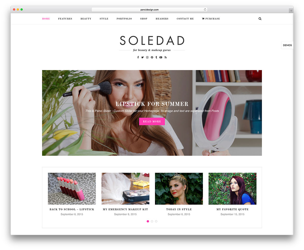 soledad-feminine-blog-wordpress-template
