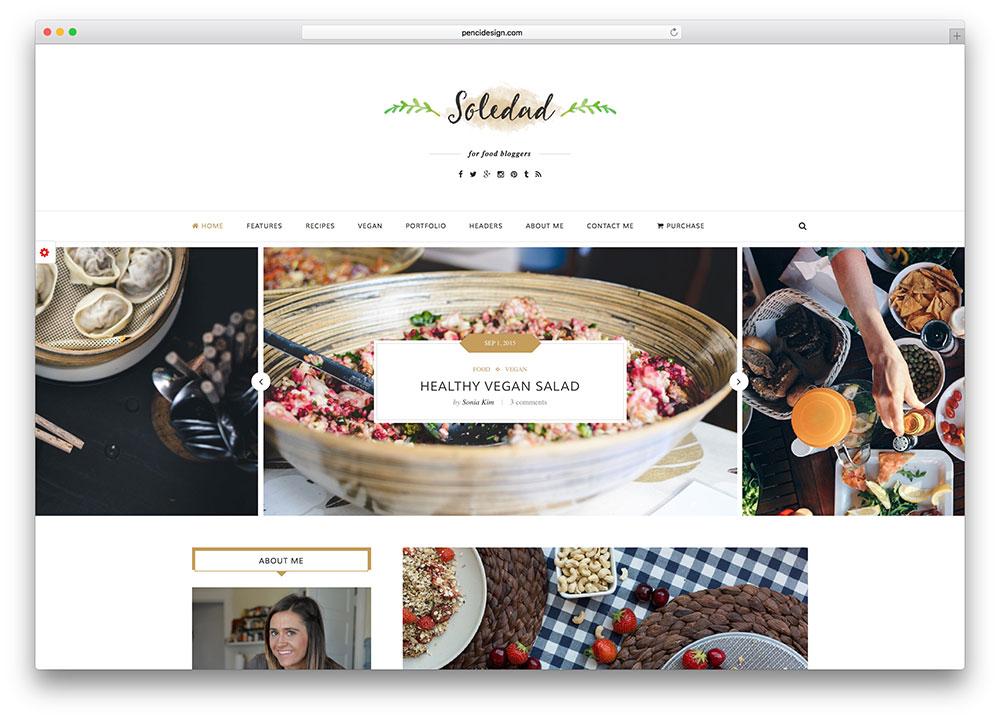 soledad-food-blog-wordpress-theme