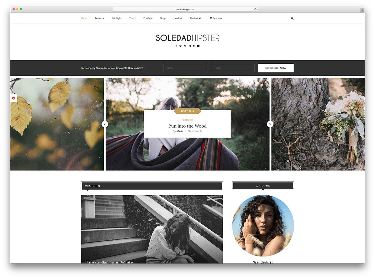 soledad-most-popular-wordpress-blog-template