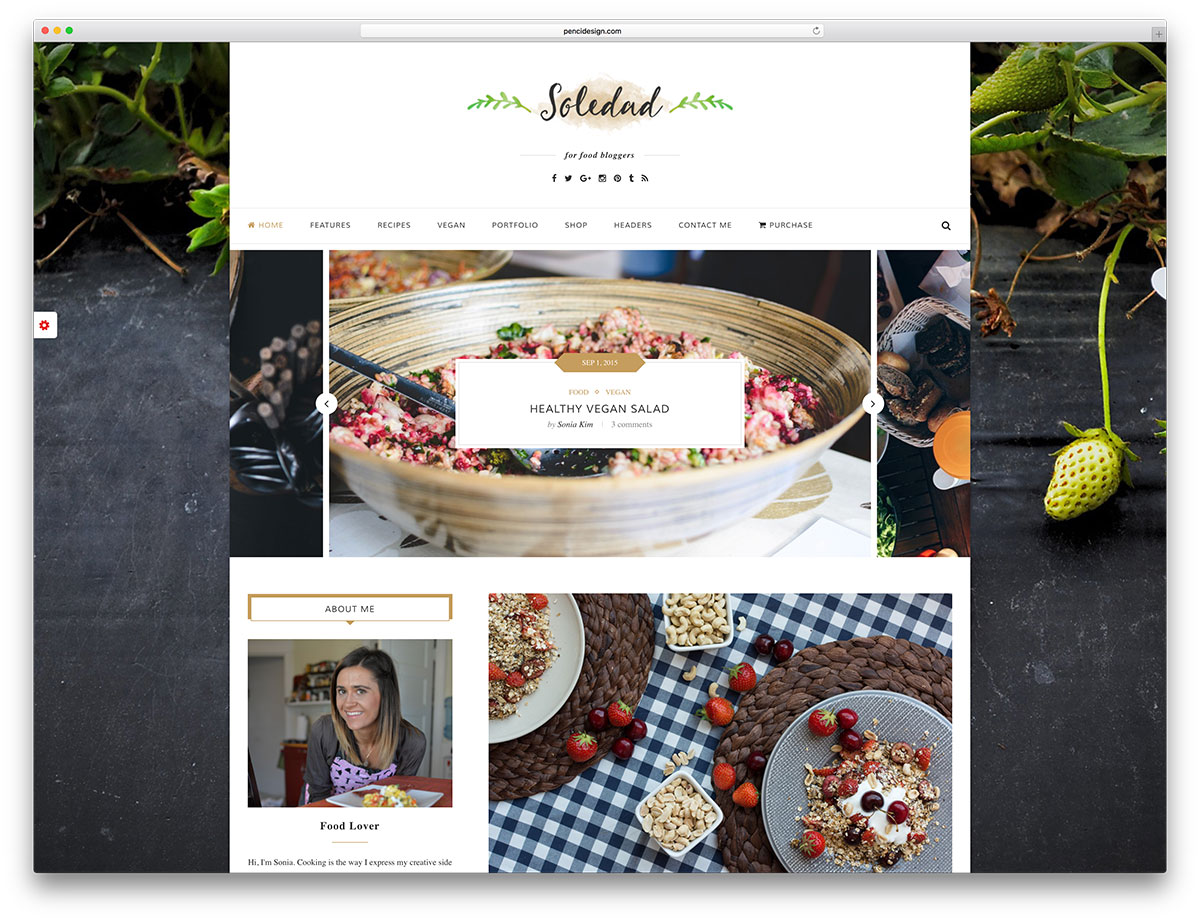 soledad-unique-wordpress-food-blog-template