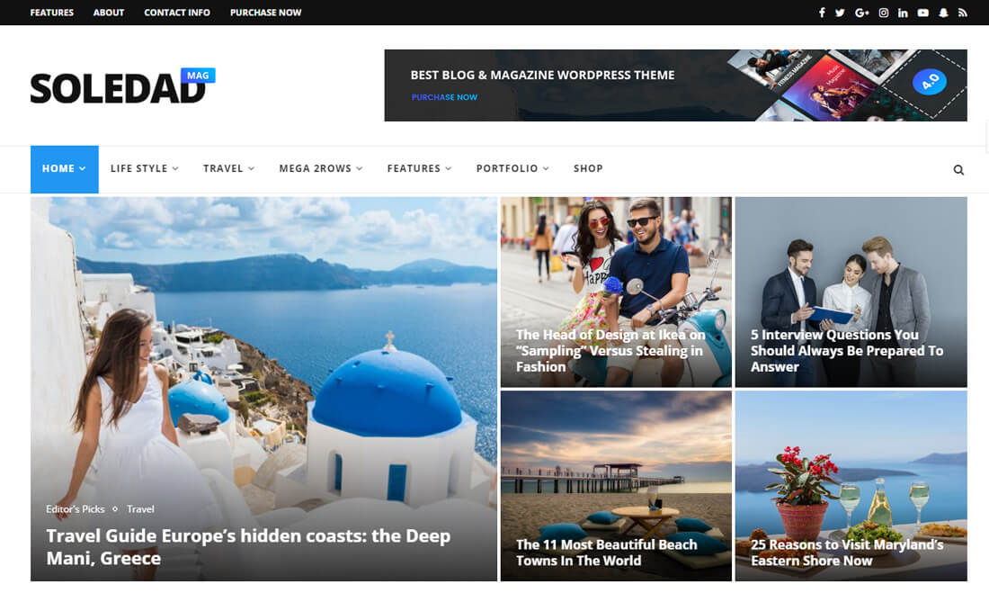 22 Best News Website Templates To Make Viral News   Colorlib