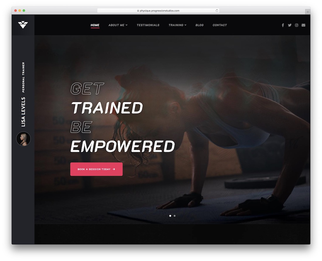 solestep wordpress sports theme