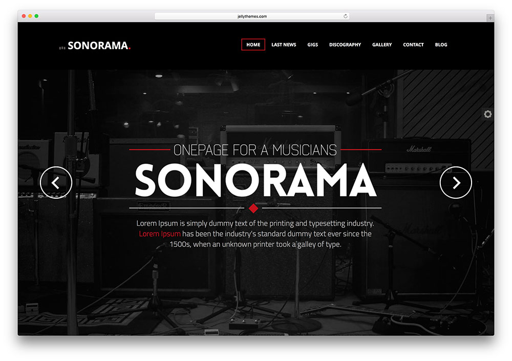 sonorama-multipurpose-html-music-site-template