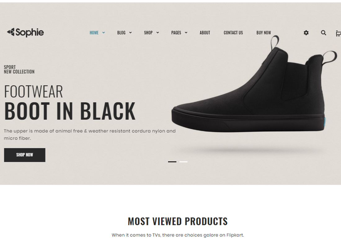 20 Clothing Store WordPress Themes for Your Shop and Boutique 2019