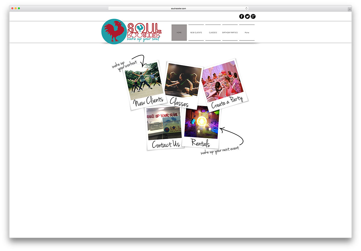 soulrooster-minimal-wix-website-example