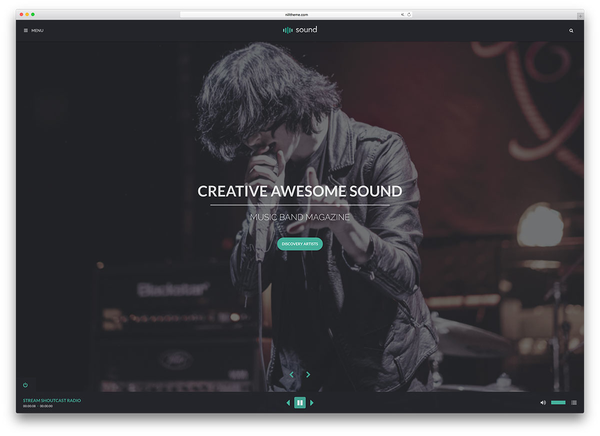 sound-creative-music-website-template