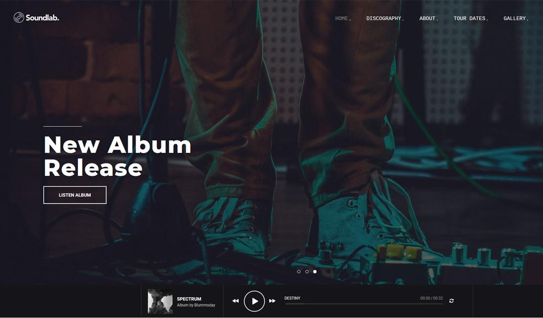 soundlab-bootstrap-music-templates