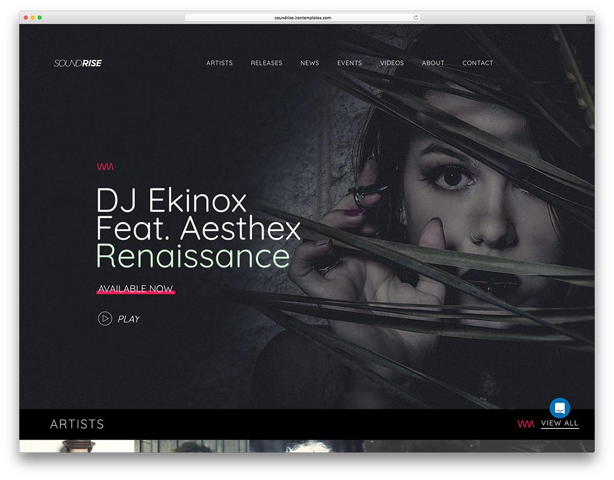 30+ Awesome & Responsive WordPress Music Themes 2019 - Colorlib