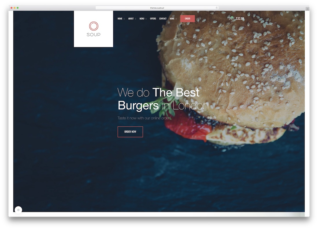 soup html5 website template
