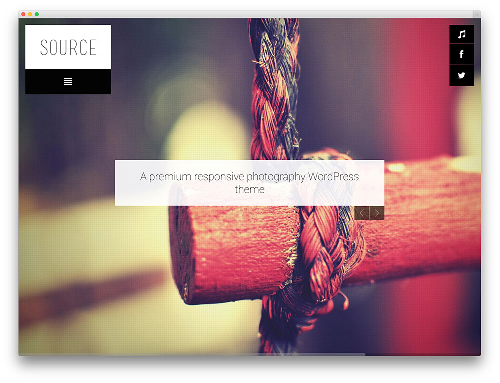 source travel photography theme