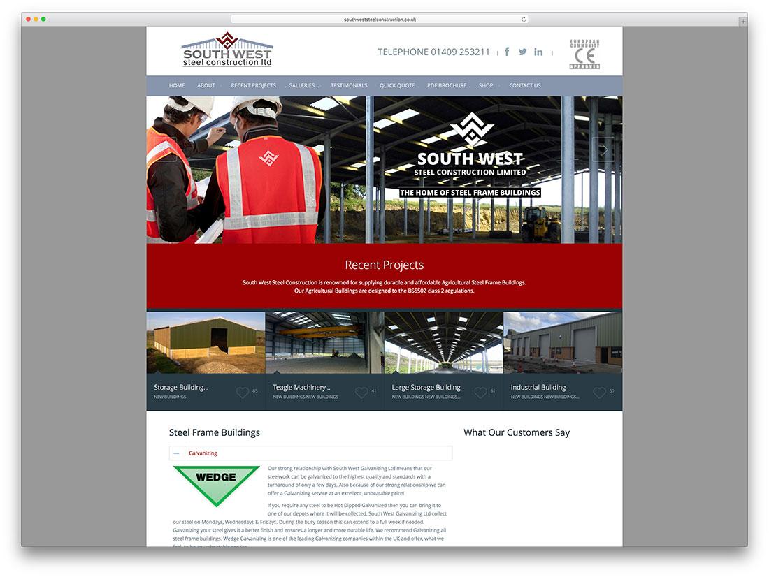 southweststeelconstruction-steel-construction-woocommerce-website